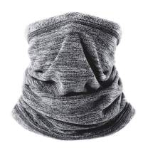 Atneato Neck Gaiter Warmers face Mask - Soft Fleece Neck Gaiters & Neck Cover & Face Bandana Scarf Windproof Half Balaclava Ski Mask