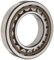 SKF NU 306 ECP Cylindrical Roller Bearing, Removable Inner Ring, Straight, High Capacity, Polyamide/Nylon Cage, Metric, 30mm Bore, 72mm OD, 19mm Width, 11000rpm Maximum Rotational Speed, 10800lbf Static Load Capacity, 11500lbf Dynamic Load Capacity
