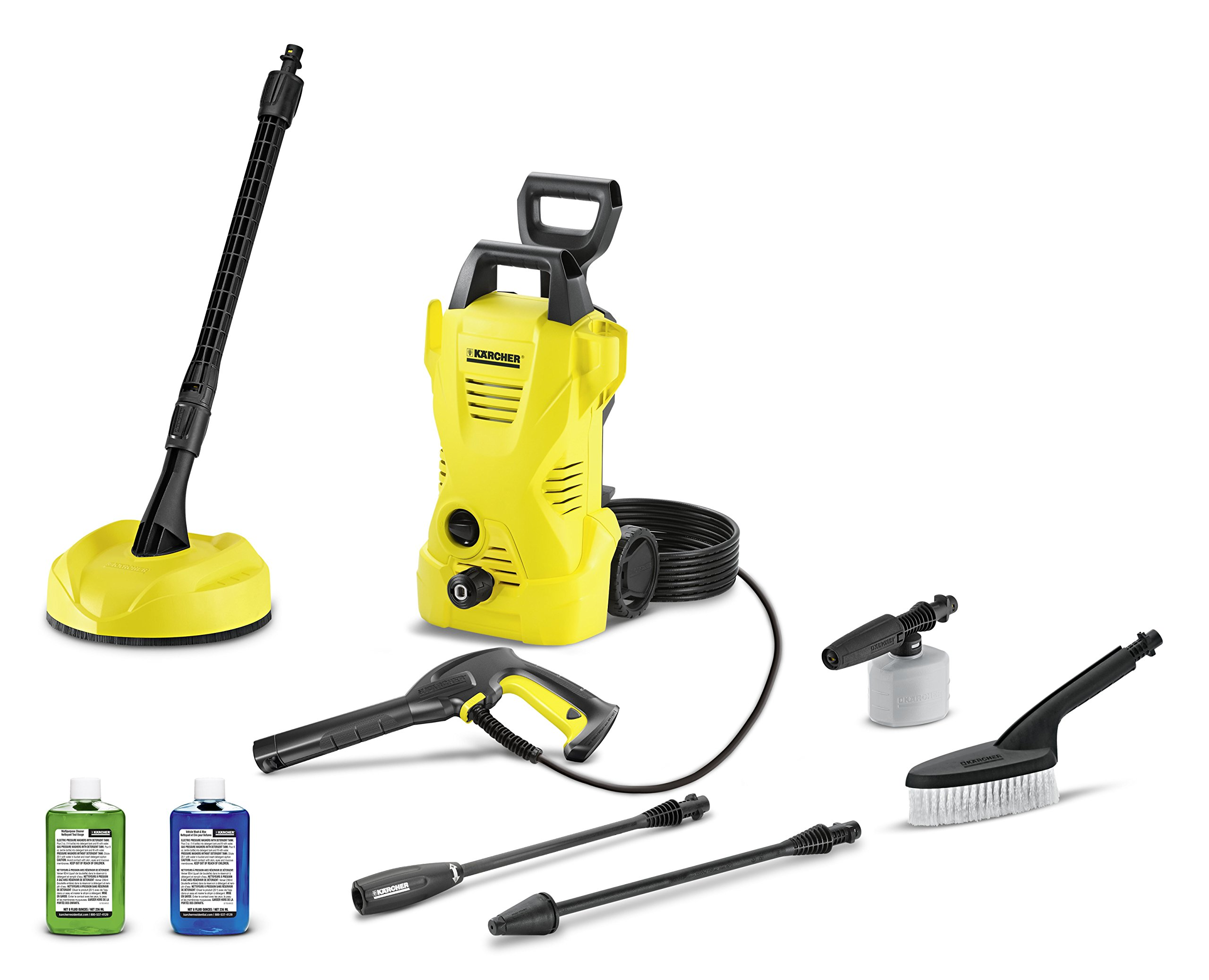 Karcher K2 Car & Home Kit Electric Power Pressure Washer, 1600 PSI, 1.25 GPM