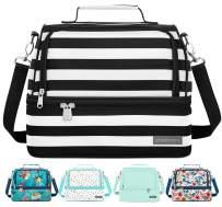 Simple Modern 8L Myriad Lunch Bag for Women & Men - Insulated Kids Lunch Box Stripes: Tuxedo