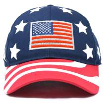 DALIX American Flag Hat Premium USA Baseball Cap