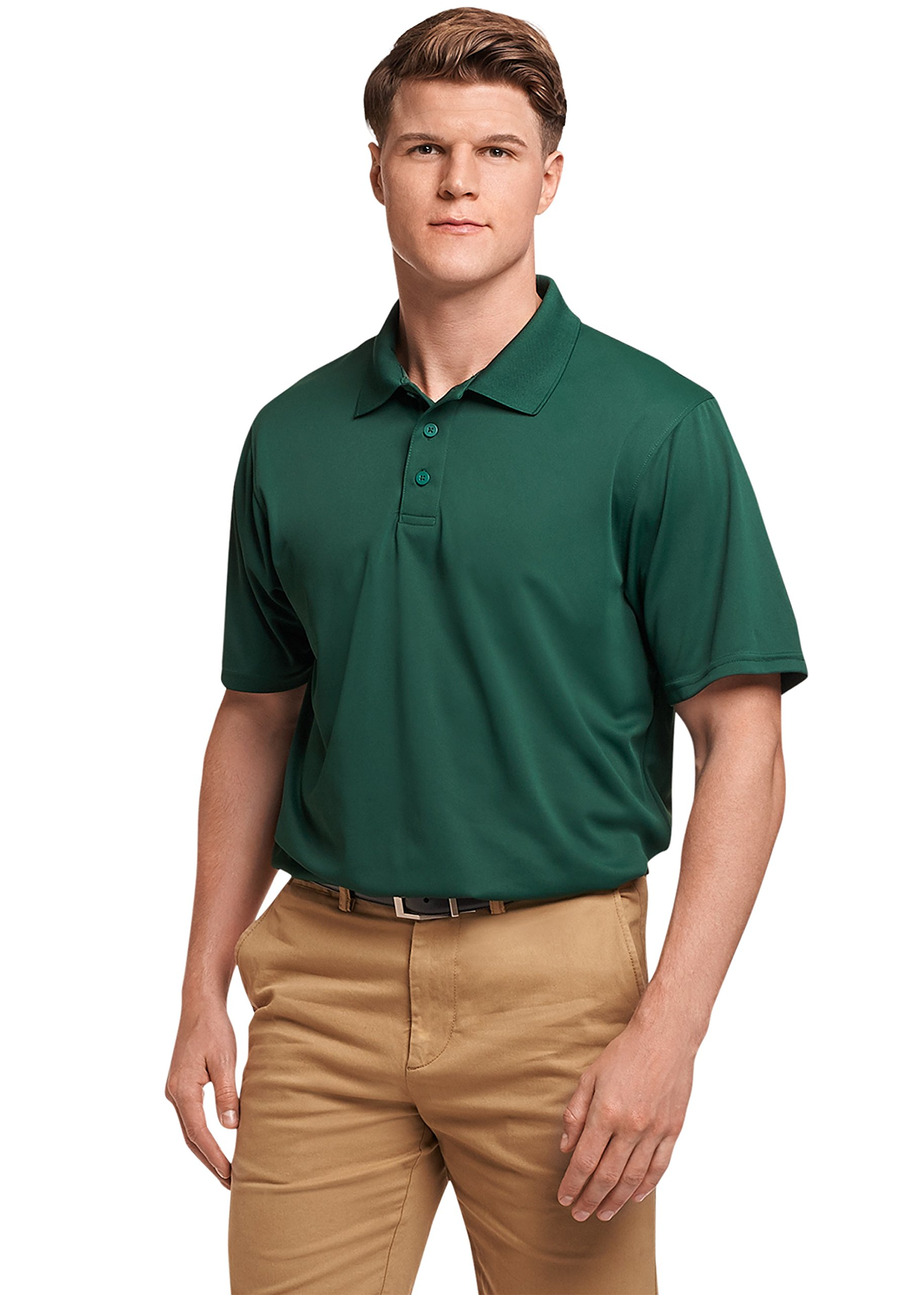 Russell Athletic Men's Standard Dri-Power Performance Golf Polo