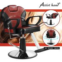Artist Hand Reclining Barber Chair All Purpose Salon Chair for Hair Stylist Tattoo Chair Stylist Chairs Salon Equipment