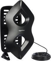 AmazonBasics Amplified Indoor/Outdoor TV Antenna - 60 Mile Range