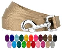 Country Brook Design - Vibrant 25 Color Selection - 5/8 Inch Nylon Dog Leash