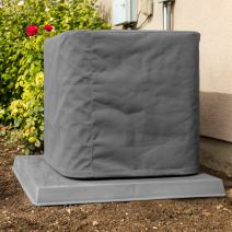 "SugarHouse Outdoor Air Conditioner Cover - Ultimate Sunbrella Canvas - Made in The USA - 20-Year Warranty - 36"" x 36"" x 40"" - Charcoal Gray"