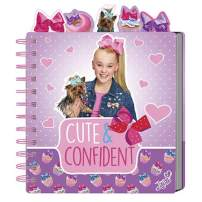 JoJo Siwa Chunky Mini Tabbed Spiral Wirebound Notebook - Journal with Cute Cover Design and Phrase - Personal Diary for Writing Notes in and Journaling - Cute & Confident