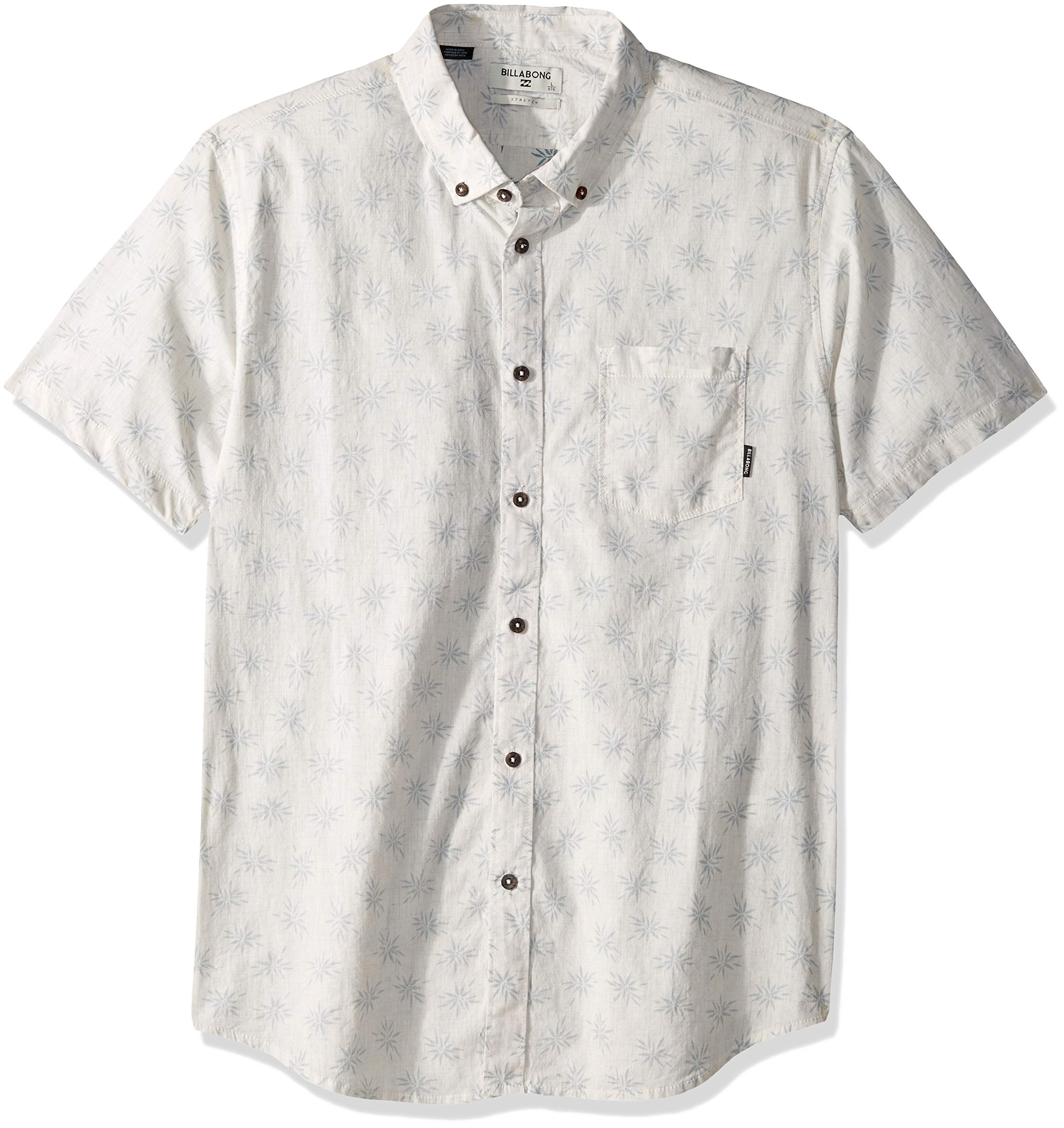 Billabong Men's Sundays Mini Short Sleeve Woven Shirt