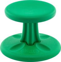 Kore Wobble Chair - Flexible Seating Stool for Toddlers, Age Range 2-3, Now with Antimicrobial Protection - Green (10in Tall)