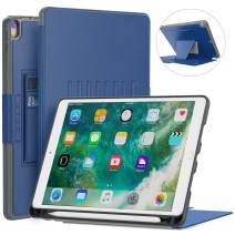Blavor Case for iPad Case 10.5 Magnetic Stand Full Body Protective Rugged Shockproof Case with Holder Auto Sleep, Wake Built-in iPad Pencil Holder Convenient Magnetic Stand Blue