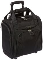Samsonite Upright Wheeled Carry-On Underseater Luggage, Black, Small