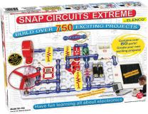 Snap Circuits Extreme SC-750 Electronics Exploration Kit | Over 750 STEM Projects | 4-Color Project Manual | 80+ Snap Modules | Unlimited Fun