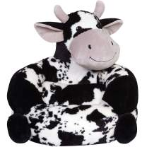 Children's Plush Cow Character Chair for Kids and Toddlers