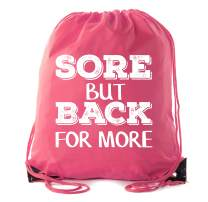Power Lifting Backpacks, Extreme Fitness Drawstring Bags Weightlifting Gym Bags - Sore