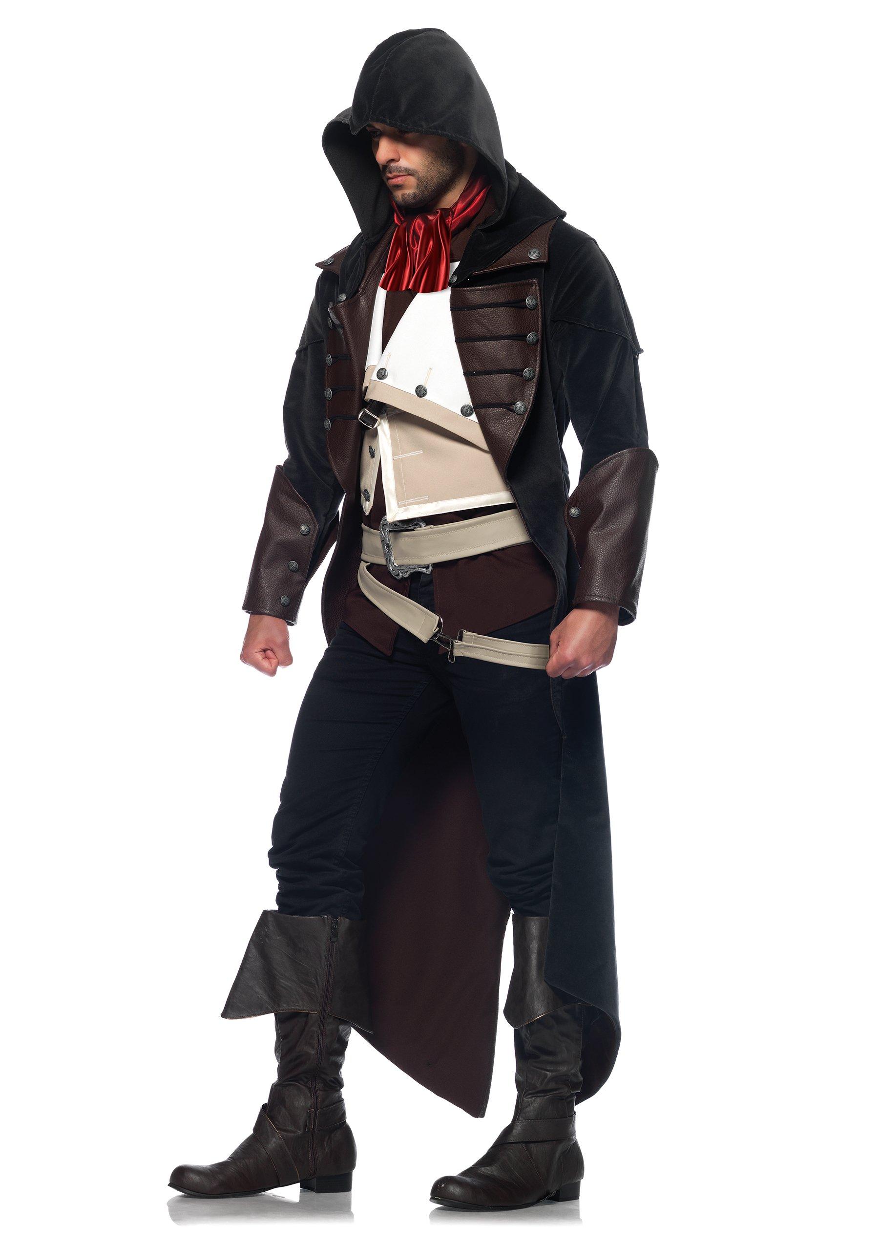 Leg Avenue Men's Assassin's Creed 7 Piece Arno Deluxe Costume Cosplay