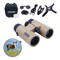 Meade Instruments – CanyonView ED (Extra-low Dispersion) 8x32 Powerful Outdoor Bird Watching Sightseeing Sports Concerts Travel Binoculars – Fully Multi-Coated BaK-4 Prisms – Durable & Waterproof