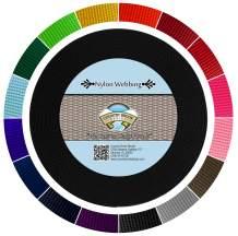 Country Brook Design - Black 1 1/2 Inch Heavy Nylon Webbing (5 Yards)