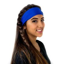 Everfan Headband | Athletic Stretch Sweatband for Running Yoga and Crossfit