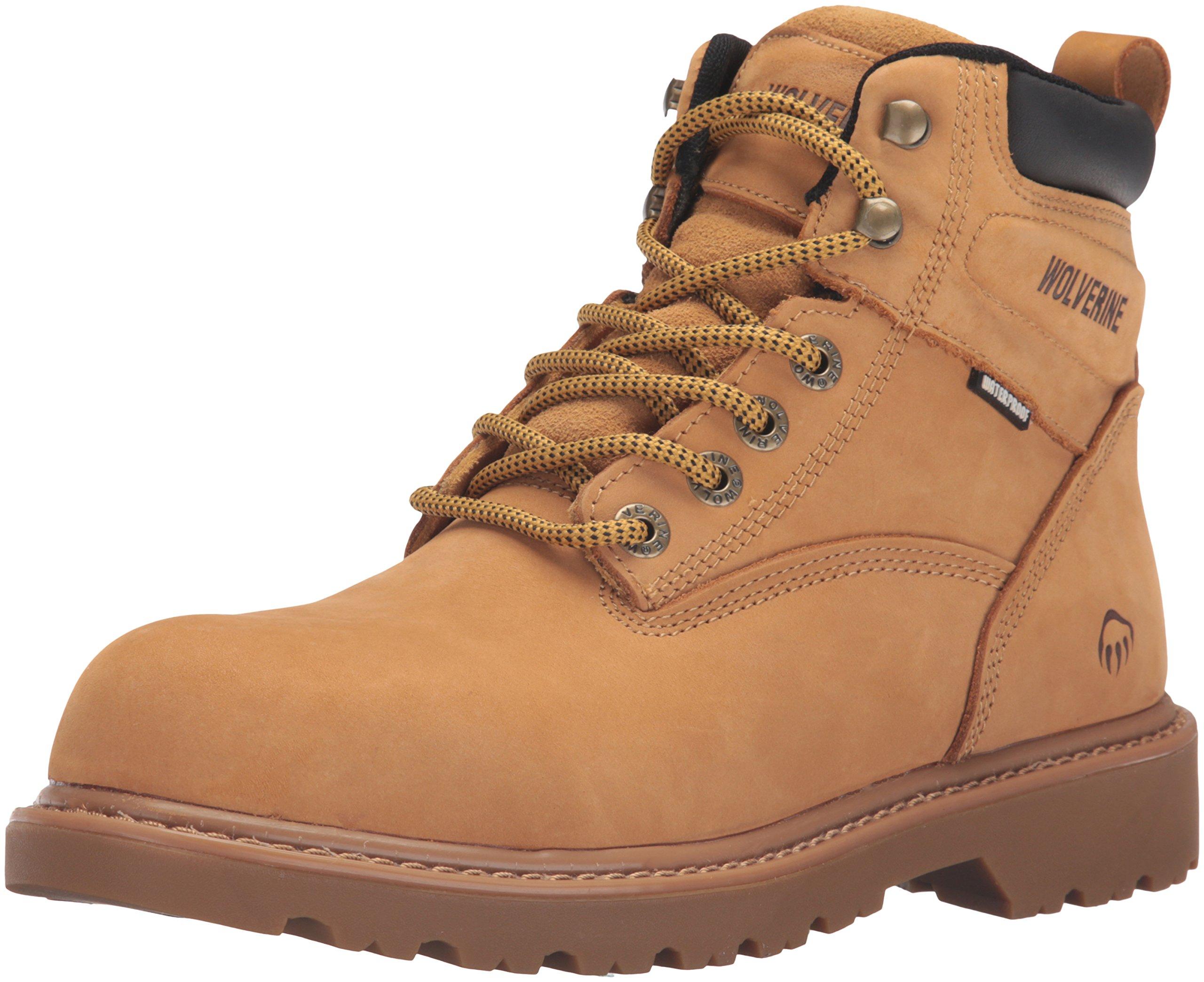 Wolverine Men's Floorhand 6 Inch Waterproof Soft Toe Work Shoe