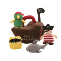 Gund Pirate Ship Baby Playset Plush