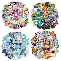 200 PCS Mixed Laptop Stickers Packs 4 Styles Water Bottles VSCO Stickers Cute,Waterproof,Aesthetic,Trendy Stickers for Teens,Girls for Waterbottle,Laptop,Phone,Travel Case, Kids Gifts