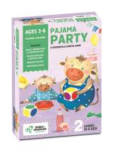 Chalk and Chuckles Pajama Party- Preschool Color Matching Game, Critical Thinking Skills, Fun for Kids Ages 3 to 6 Years