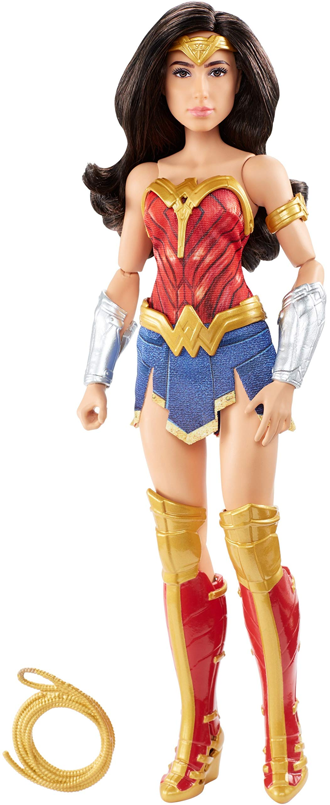 Mattel Wonder Woman 1984 Doll (~12-inch) Wearing Superhero Fashion and Accessories, with Lasso, for 6 Year Olds and Up