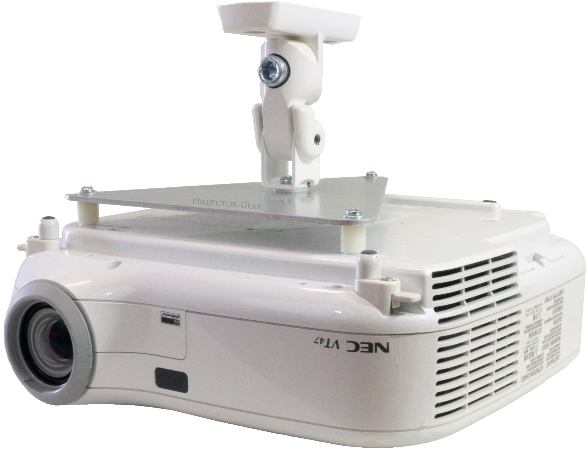 Projector-Gear Projector Ceiling Mount for OPTOMA TX536 TX542 TX542-3D TX610ST TX612 TX612-3D