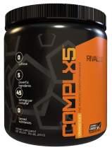 Rivalus Complx5 45 Serving Pre Workout Powder, Orange, 0.7 Pound