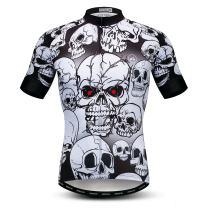 Weimostar Men's Cycling Jersey Short Sleeve Bike Shirt Tops Pockets