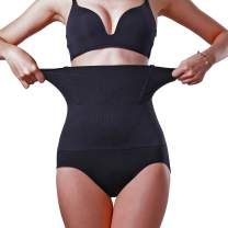 MELERIO Women's Body Shaper, High Waisted Tummy Control Panties, Butt Lifter Shapermint Spanks Shapewear