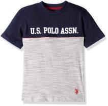 U.S. Polo Assn. Boys' Cut and Sew Graphic Fashion Shirt