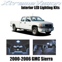 Xtremevision Interior LED for GMC Sierra 2000-2006 (16 Pieces) Cool White Interior LED Kit + Installation Tool