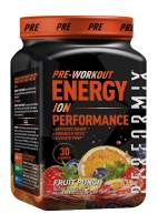 Performix ION Pre-Workout Powder, Explosive Energy, Enhanced Focus, Elevated Pump (30 Servings, Fruit Punch)