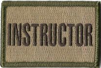 """Instructor Tactical Patches - 2""""x3"""""""