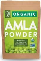 Organic Amla Powder (Amalaki) | 32oz Resealable Kraft Bag (2lb) | 100% Raw From India | by FGO