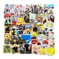 50 Pcs Assassination Classroom Anime Stickers Japanese Anime for Laptop Stickers Cool Sea Animals Stickers for Kids Teens Water Bottles Bicycle Skateboard Luggage Decal (Assassination Classroom)