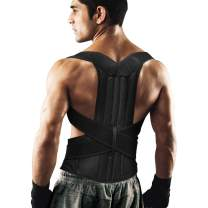 Back Brace Posture Corrector for Women and Men Back Lumbar Support Shoulder Posture Support for Improve Posture Provide and Back Pain Relief
