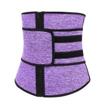 Sekluxy Corset Waist Belt Polyester Steel Boned Waist Trainer Shaper Weight Loss Slimmer