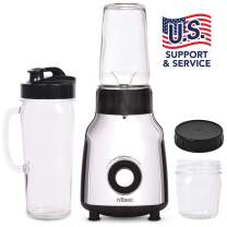 Tribest PBG-5050-A Glass Personal Blender, Chrome