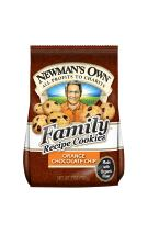 Newman's Own Family Recipe Cookies, Orange Chocolate Chip, 7-oz. (Pack Of 6)