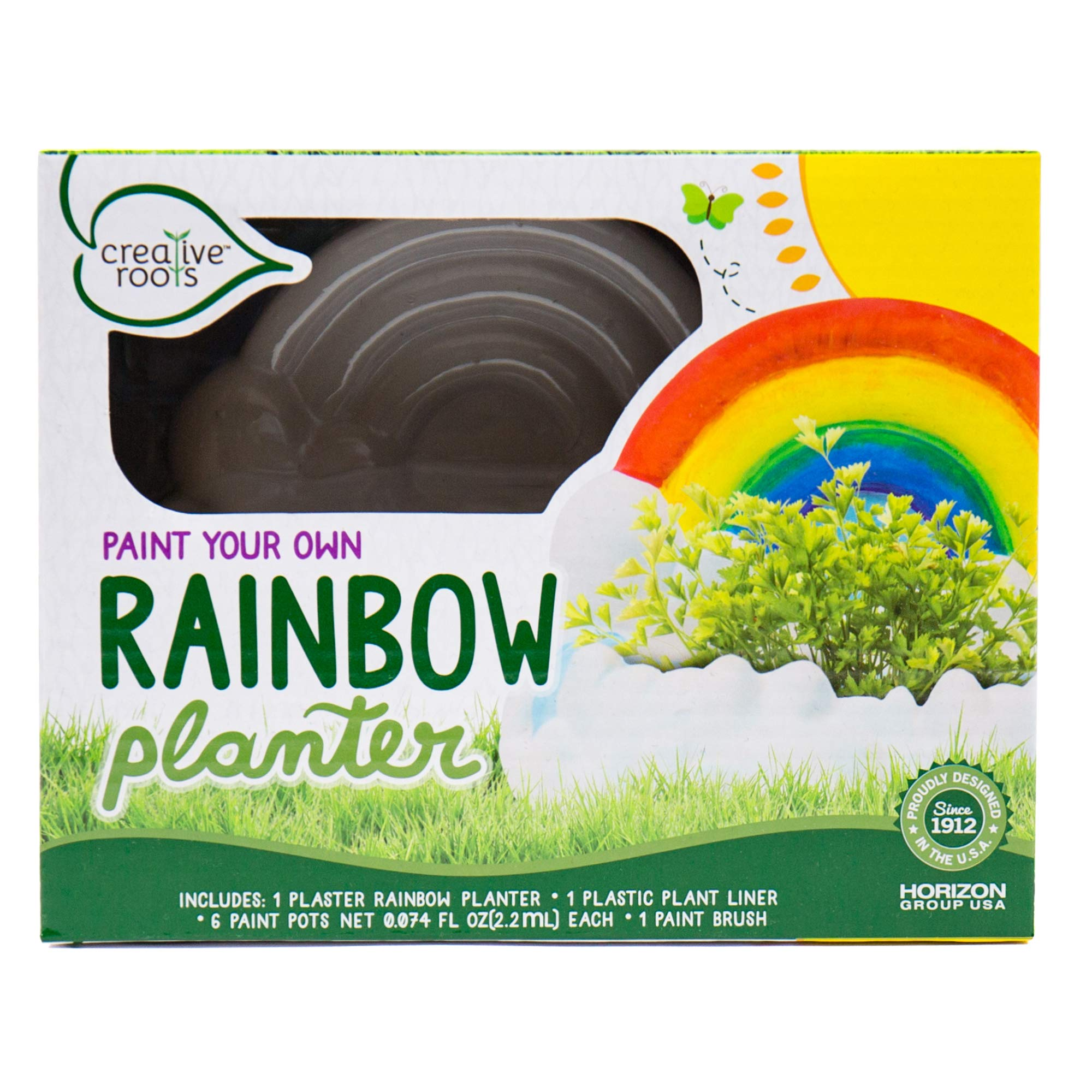 CREATIVE ROOTS Paint Your Own Rainbow Planter by Horizon Group USA Toy