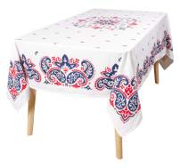 KAF Home Americana Table Linens Collection | Perfect for Barbecuing, Entertaining, and Fourth of July (Americana, 60 x 84)