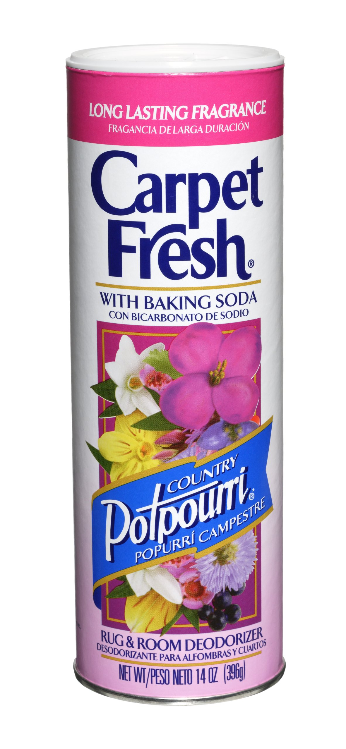 Carpet Fresh Rug and Room Deodorizer with Baking Soda, Country Potpourri Fragrance, 14 OZ [12-Pack]