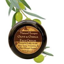 Olive & Omega Intense Face Moisturizer | Organic Anti-Aging Face Cream for Dry Skin, Wrinkles, Age Spots, Eczema & More | Retinol Cream w/Olive Oil, Coconut Oil, Aloe Vera & Powerful Vitamins | 2.5oz