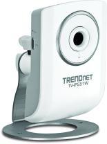 TRENDnet Wireless N Network Surveillance Camera with 1-Way Audio, TV-IP551W (White)