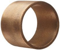 "Boston Gear BostBronz B16228 Plain Cylindrical Sleeve Bearing, Oil Impregnated Sintered Bronze, Inch, 1.003"" Bore, 1.378"" OD, 1"" Length"