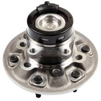 ECCPP Front Wheel Hub Bearing Assembly 6 Lugs w/ABS for 2004-2008 Chevy GMC Compatible with 515109