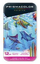 Prismacolor Premier Colored Pencils, Soft Core, Under the Sea Set, 12 Count