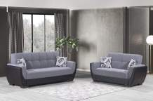 Ottomanson AIR-SB-105 Sofabed, Sofa, Gray/Black
